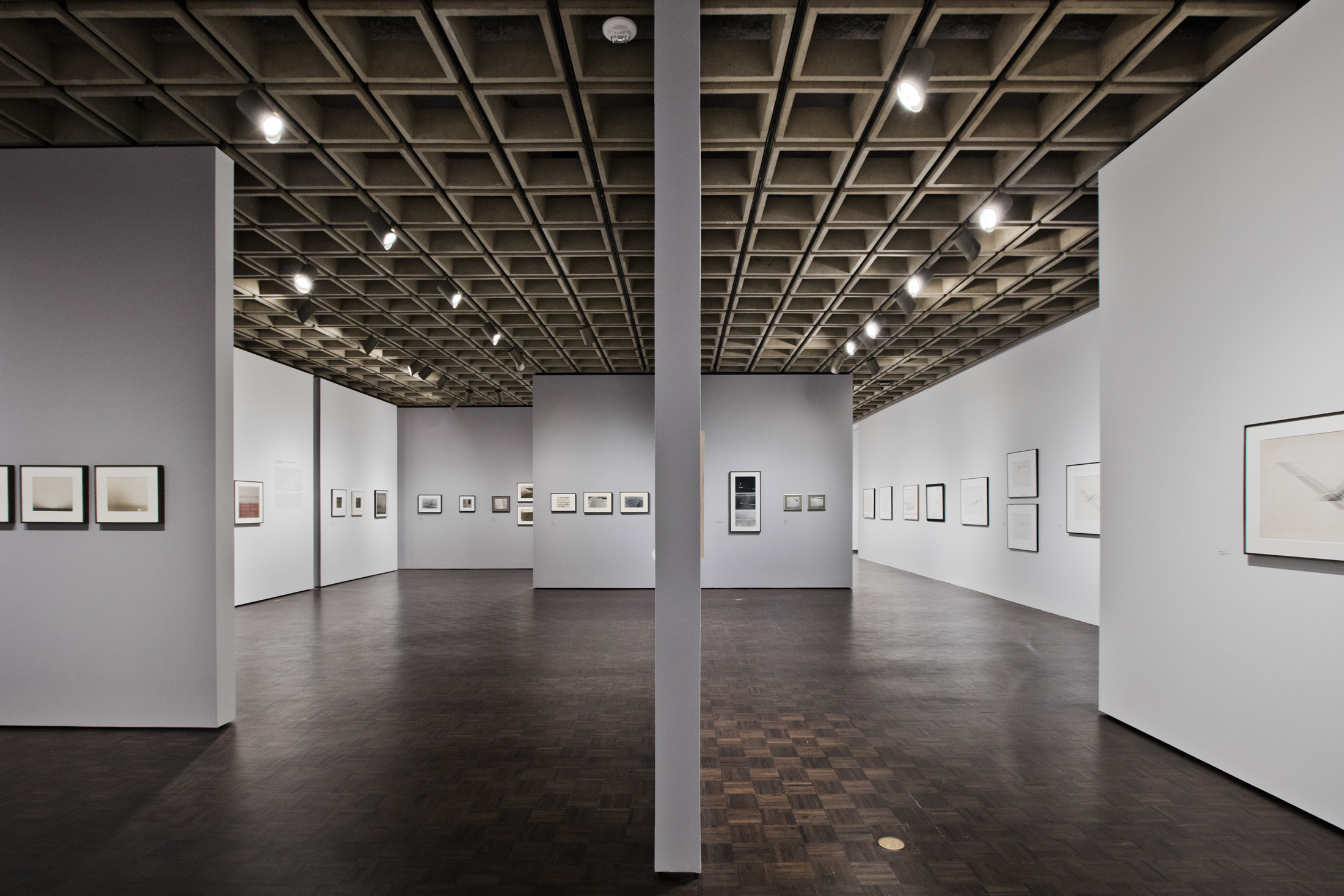 Installation View, Nasreen Mohamedi Retrospective