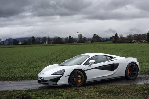 A well-appointed base-model 570S costs $184,900.