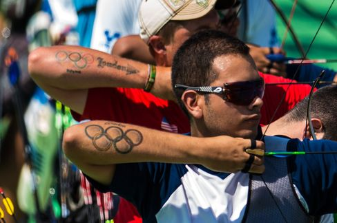 OLY-2016-RIO-ARCHERY-TEST EVENT