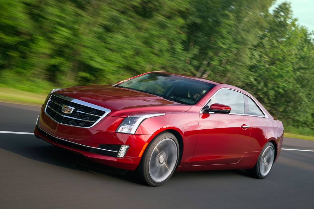 medium resolution of 2016 cadillac ats coupe review annoying forgettable and a big improvement bloomberg