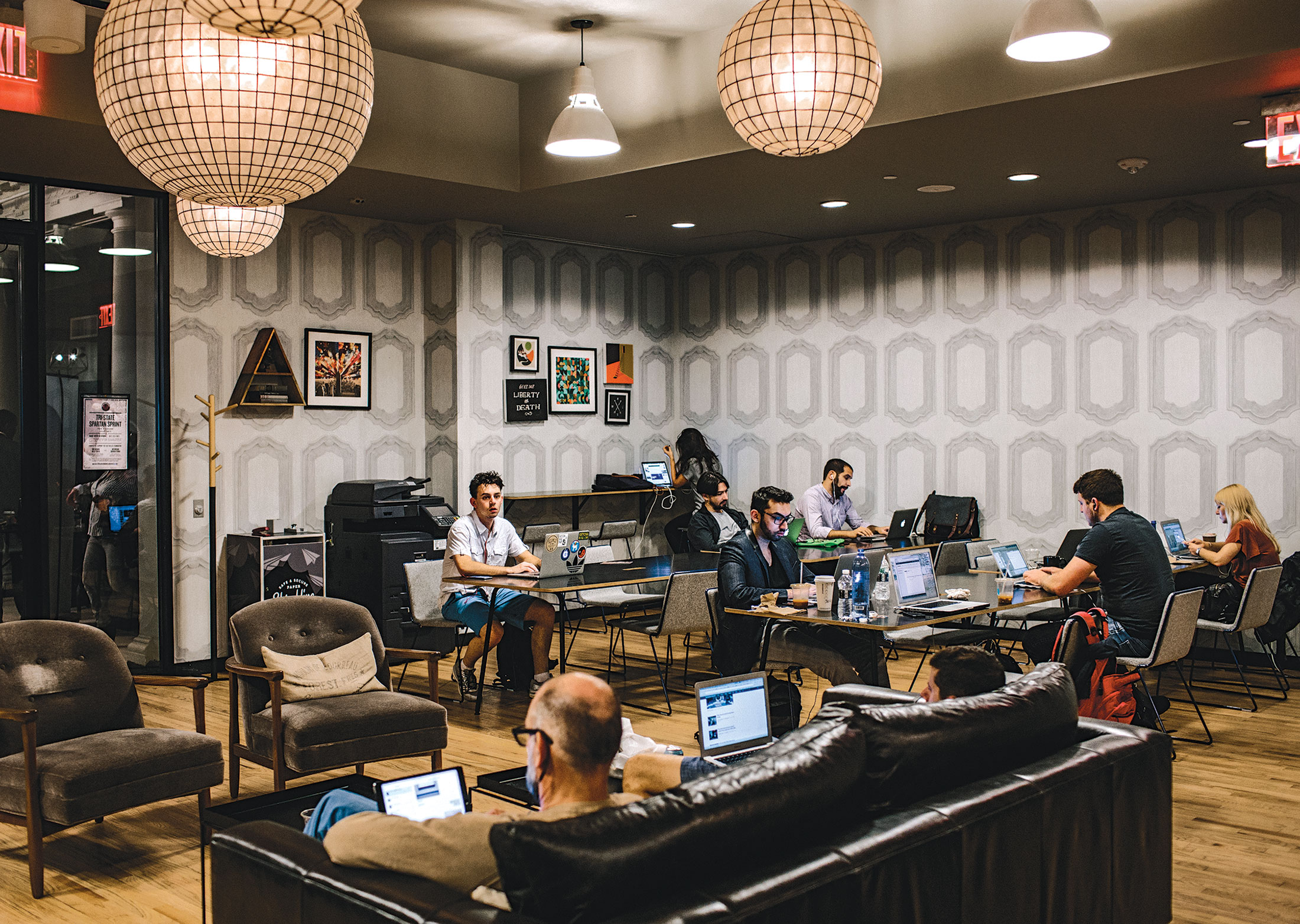 WeWork Real Estate Empire or Shared Office Space for a