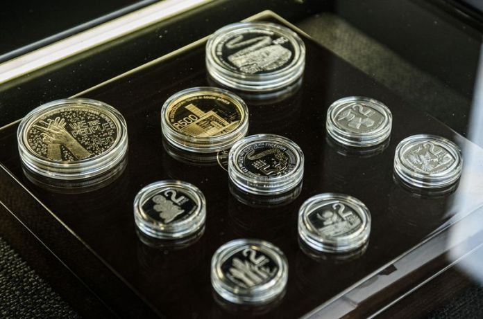 South African Reserve Bank Launch Commemorative Democracy Coins