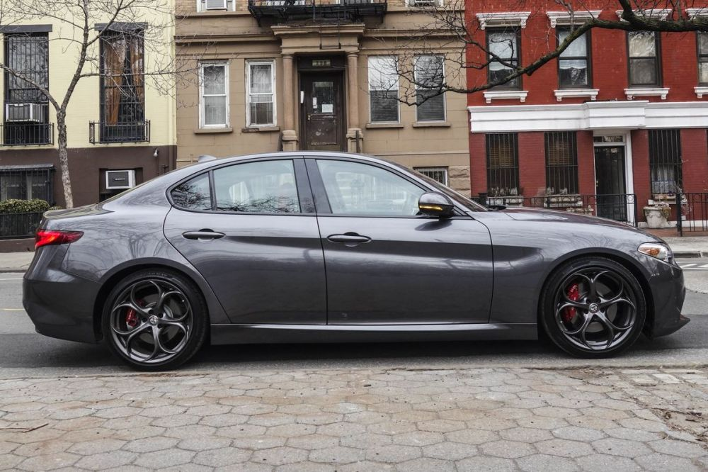 medium resolution of alfa romeo giulia ti rwd review finally a sedan that stands out bloomberg