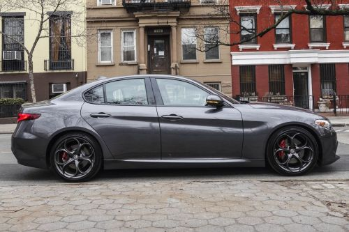 small resolution of alfa romeo giulia ti rwd review finally a sedan that stands out bloomberg