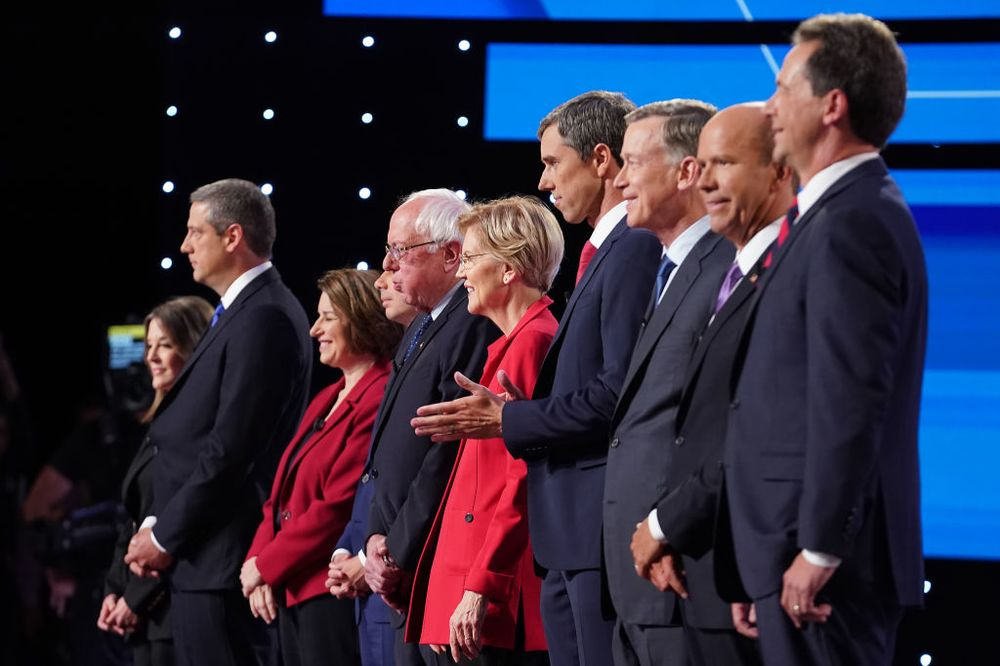 democratic debate cnn steals