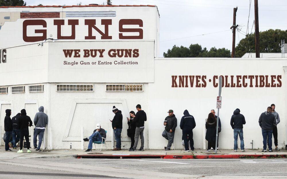 Coronavirus Fear Is Leading to Panic Buying of Guns, Too - Bloomberg