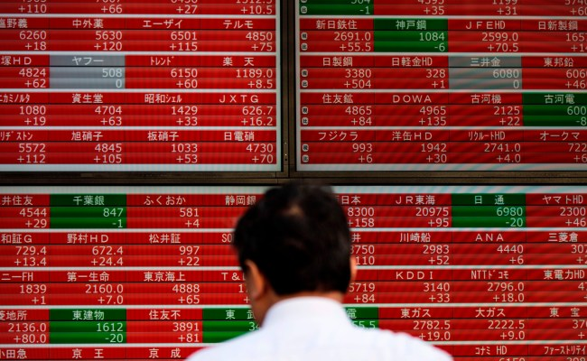 U S Stocks Mixed As Yen Leads Safe Haven Advance Markets