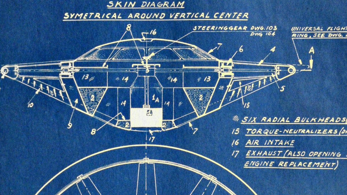 hight resolution of the forgotten legend of silicon valley s flying saucer man bloomberg ufo engine diagram