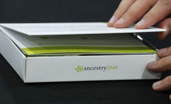 An Ancestry.com Inc. DNA kit