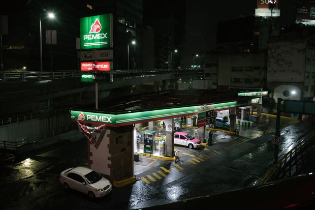 Pemex Gas Stations As President-Elect Promises To Revive State-Owned Oil Company