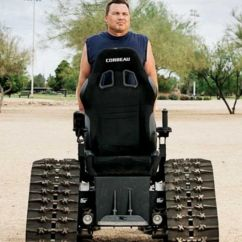 Tank Chair Wheelchair With Desk Attached Uk Founded By Army Vet Tankchair Makes All Terrain Wheelchairs Bloomberg The Incredible Stair Climbing Self Parking Amphibious