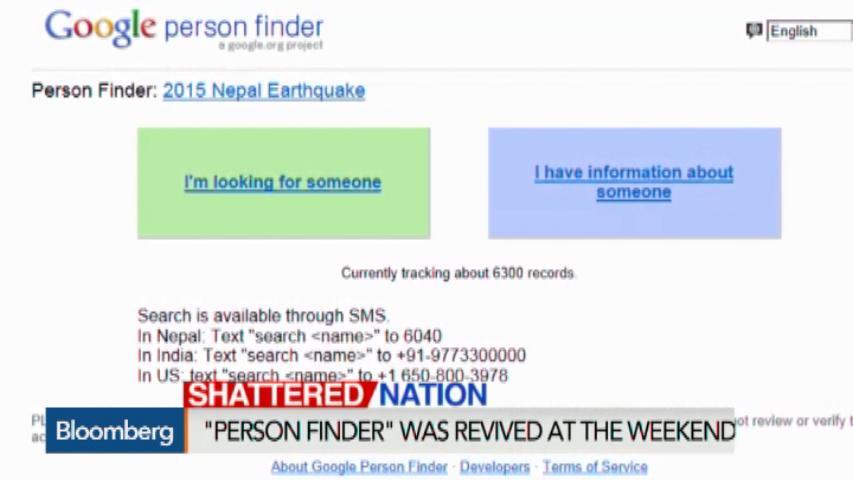 google s person finder
