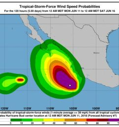 hurricane bud prompts storm watches on mexico s pacific shore [ 1000 x 822 Pixel ]