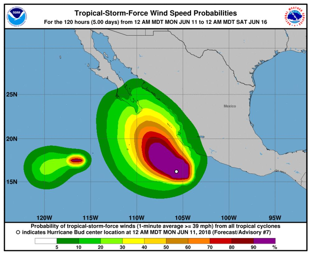 medium resolution of hurricane bud prompts storm watches on mexico s pacific shore