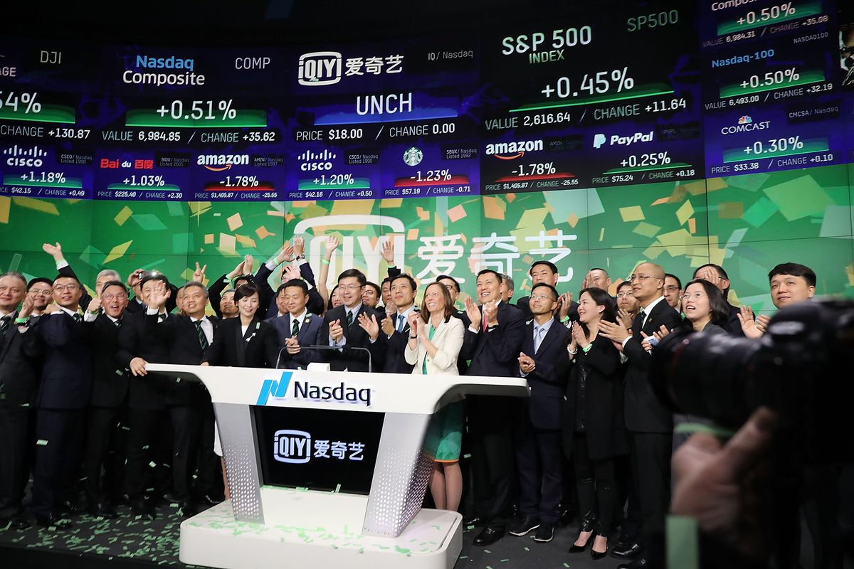 Baidu's iQiyi Drops in Debut After IPO Raising $2.3 Billion - Bloomberg