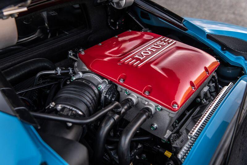 Lotus Evora Gt 2020 motor