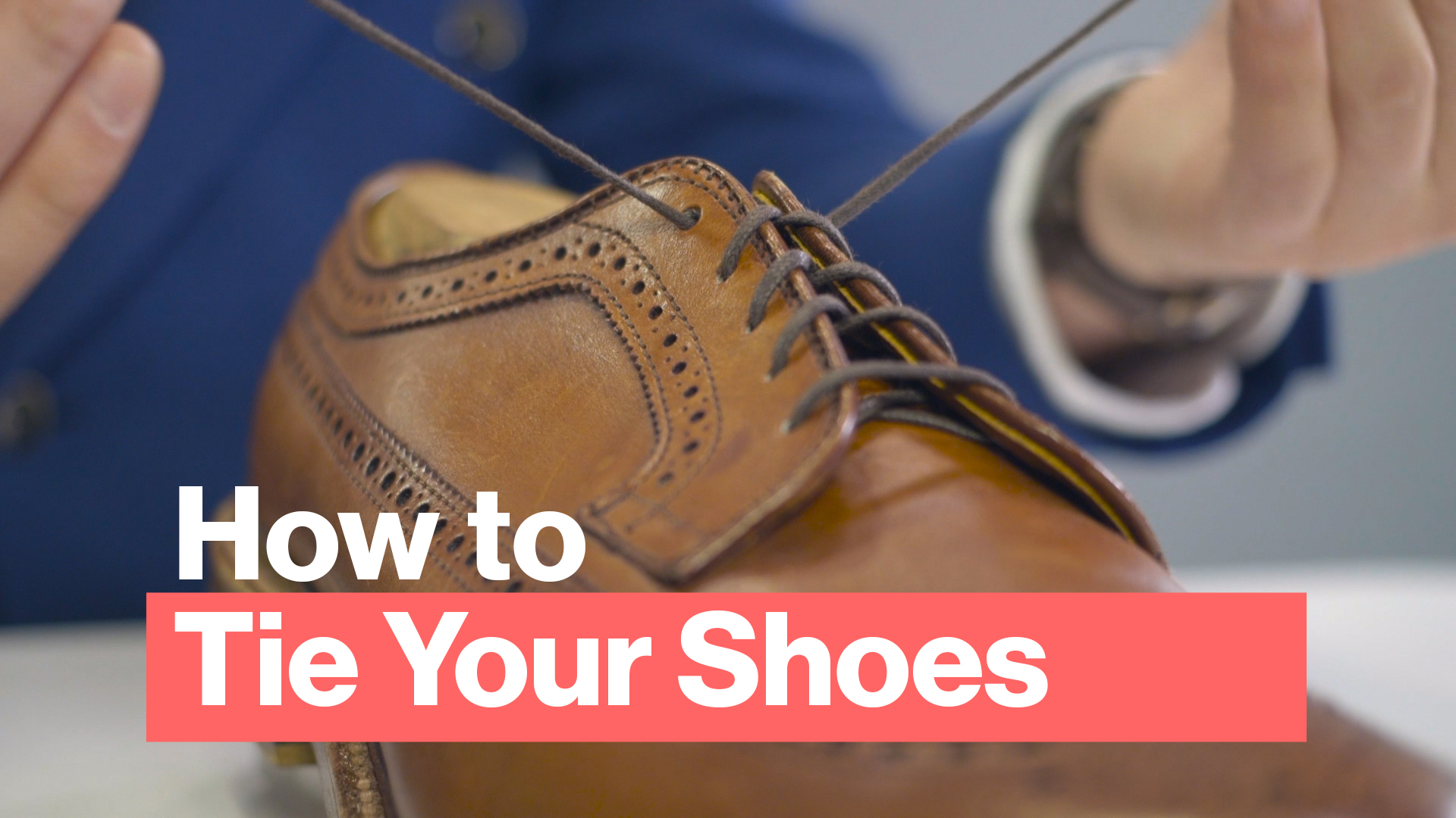 How To Tie Your Shoes And Lace Your Shoes The Best Way