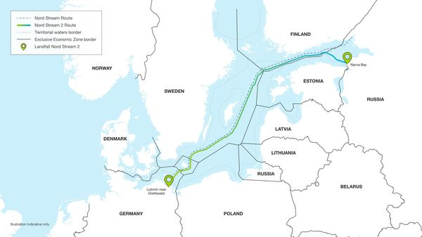 relates to Merkel Scrapping Nord Stream Would Unravel German Gas Strategy