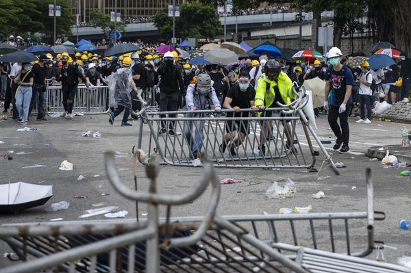 Mass Protests Lead To Postponement Of Hong Kong Legislature's Extradition Law Meeting