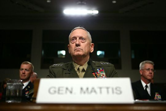 Image result for Mad Dog Mattis SHUTS Liberal Reporters DOWN After They Interrupt His Press Briefing