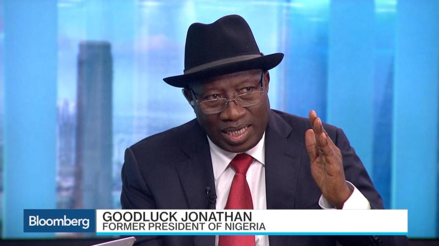 Image result for GOODLUCK JONATHAN DONALD TRUMP AND CLINTON