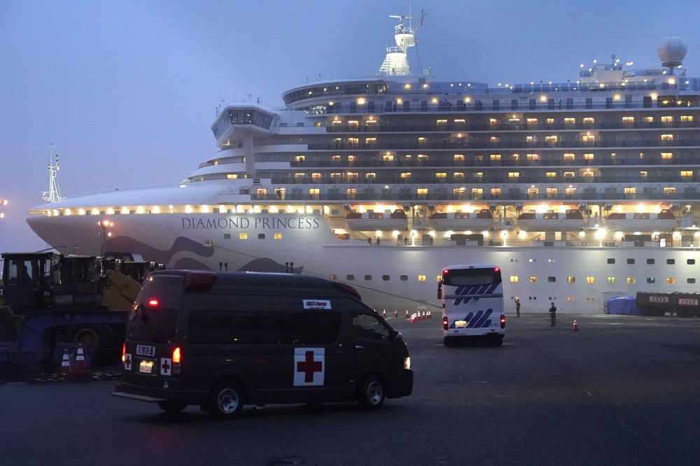 U.K. Man Dies From Coronavirus Caught on Diamond Princess - Bloomberg
