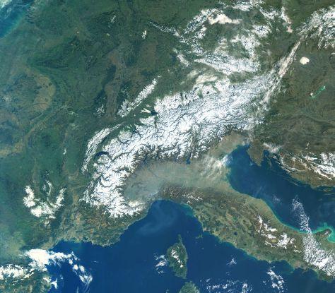 Alpine Snowfall