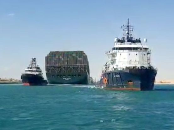 Egypt to launch ship that blocked the Suez Canal as soon as compensation agreement is reached