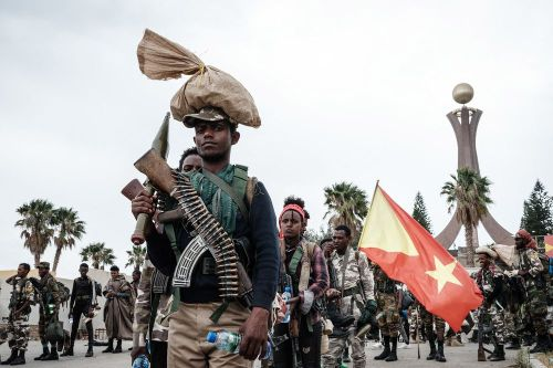 Soldiers of Tigray Defence Force (TDF) in Tigray.