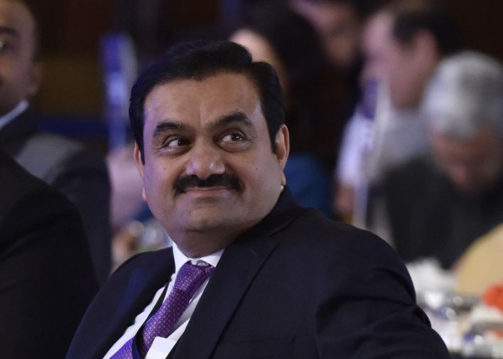 adani group stocks drop on report some investor accounts frozen - bloomberg