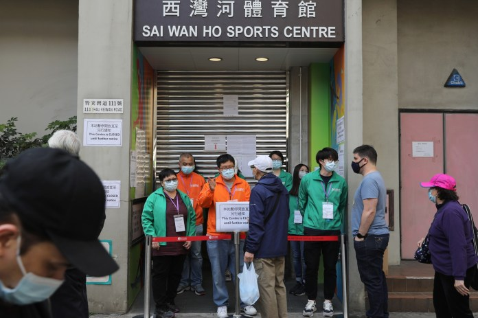 Hong Kong suspends BioNTech vaccines over packaging failure