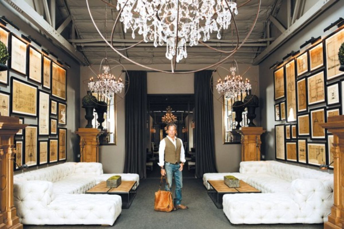 Restoration Hardware CEO Gary Friedmans Luxury Retail