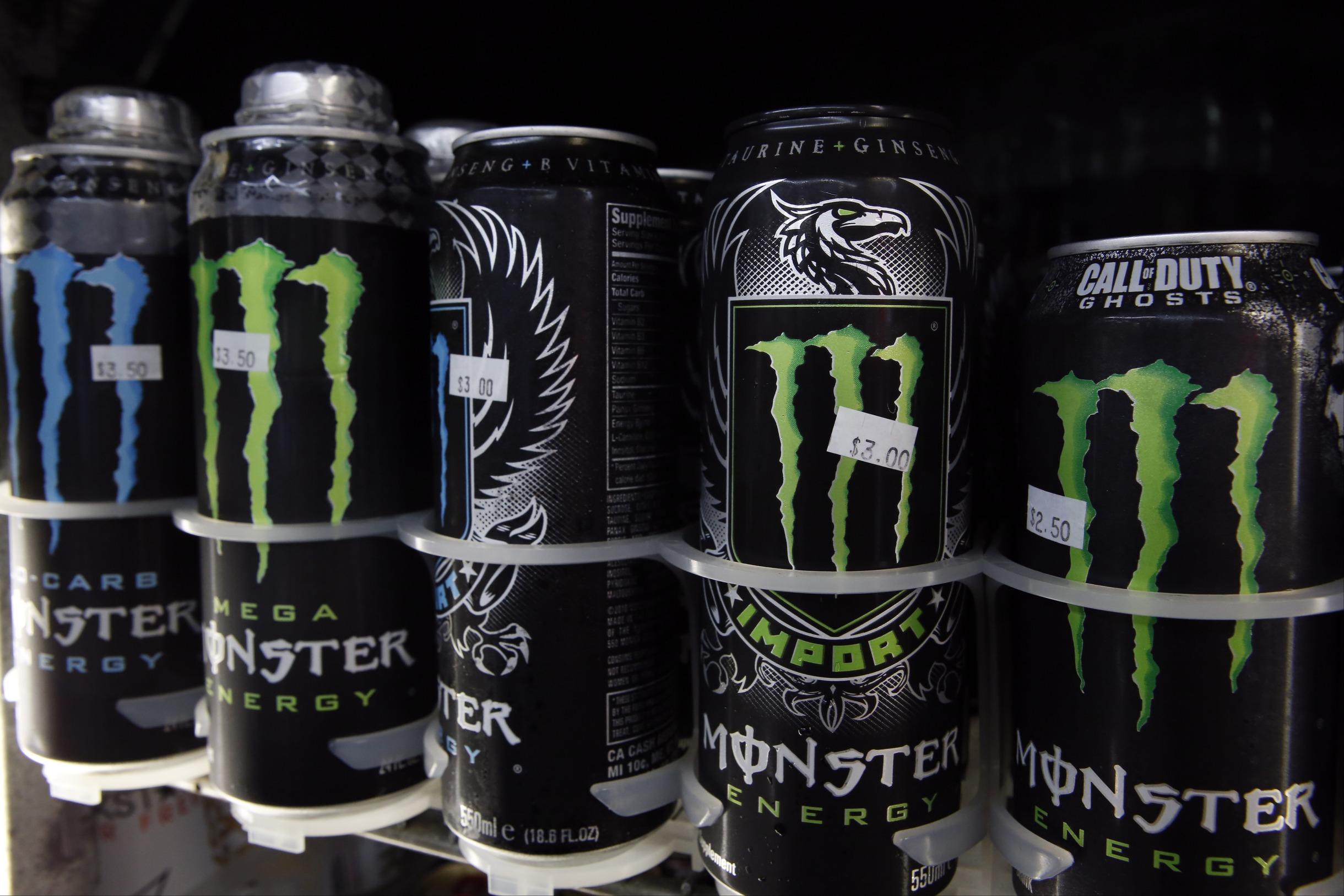 monster beverage mnst stock