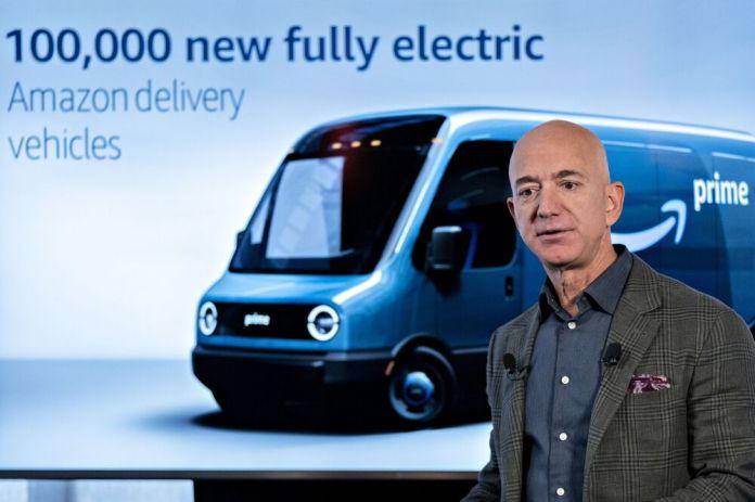 Bezos S Big Van Order Signals Amazon Backed Rivian Is For Real Bloomberg