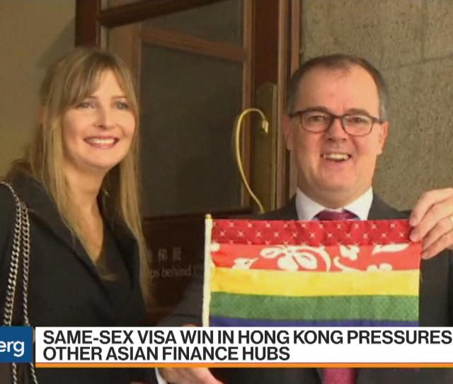 Same Sex Visa Win In Hong Kong Pressures Other Asia Finance Hubs Bloomberg