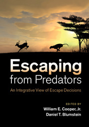 Escaping from Predators book cover