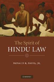The Spirit of Hindu Law