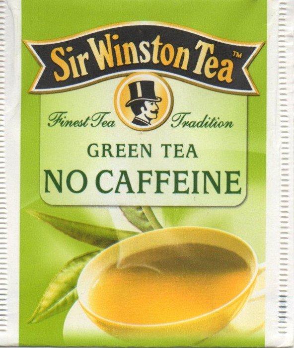 Green Tea No Caffeine - Sir Winston Tea - Catawiki