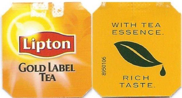 Gold Label Tea  Lipton  Catawiki
