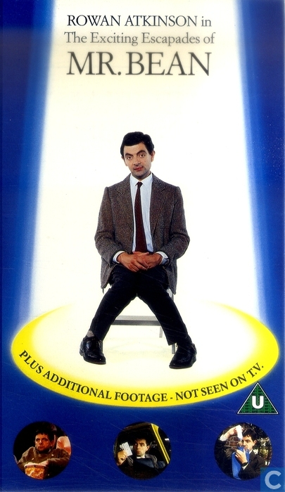 The Exciting Escapades Of Mr Bean VHS Video Tape Catawiki