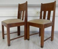 Two Amsterdamse School chairs - Catawiki