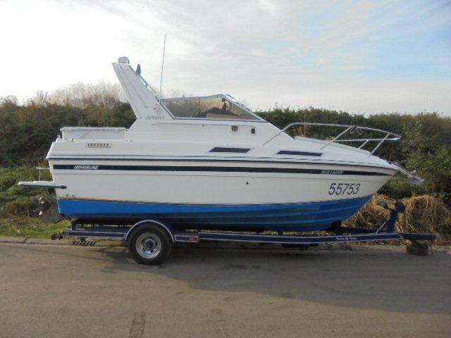 Fairline 21ft speedboot  1990