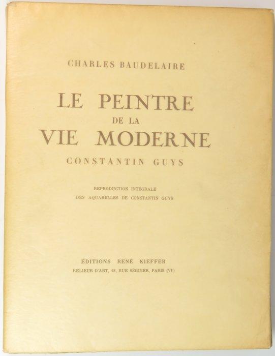 Baudelaire Le Peintre De La Vie Moderne : baudelaire, peintre, moderne, Bibliofiel;, Charles, Baudelaire, Peintre, Catawiki