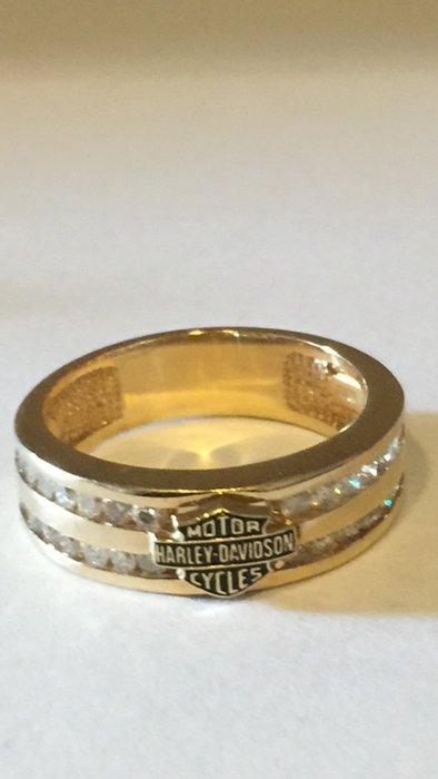 Harley Davidson Diamond Ring : harley, davidson, diamond, Harley, Davidson, Diamonds, Catawiki
