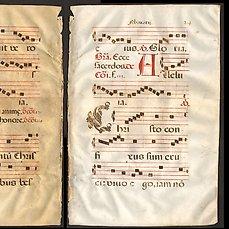 manuscrit partition de musique