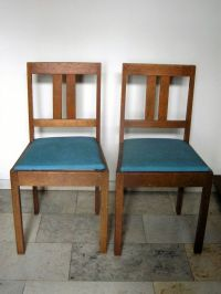 Two Haagse School chairs - Catawiki
