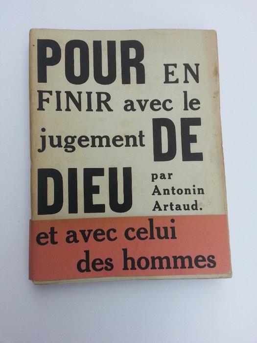Pour En Finir Avec Le Jugement De Dieu : finir, jugement, Littérature;, Antonin, Artaud, Finir, Catawiki