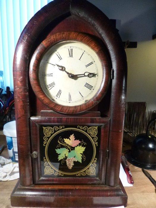 Orologio da tavolo americano  JEROME  Co New Haven  Periodo 1850  Catawiki