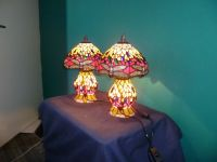 Tiffany style lamp Set