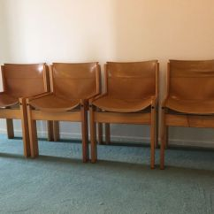 Leather Sling Chairs Stackable Costco Ibisco Four Italian Seat Catawiki